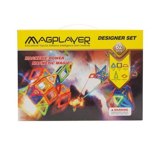 Magplayer 62 brickor
