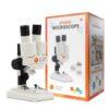 mikroskop med emballage