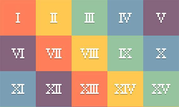 Vill du lära dig romerska siffror