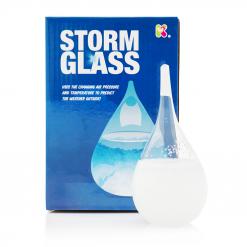 Stormglas som ger dig en väderprognos